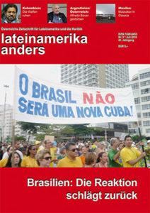 lateinamerika anders Nr. 3* Juli 2016 | Erste oppositionelle Massendemonstration am 15. März 2015 an der Copacabana | Foto: © Johannes Schmidt