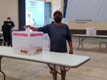 In Mexiko wurde per Referendum über die Aufarbeitung von Staatsverbrechen abgestimmt   Quelle: ©PhilippGerber